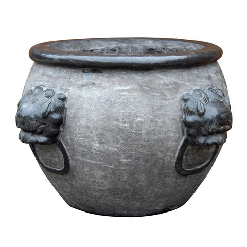 Chinese outdoor indoor large stone container