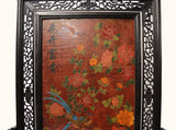 desktop panel - Chinese art - lacquer drawing