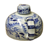 teapot - blue white pot - display teapot