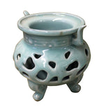 celadon - incense burner - ding container