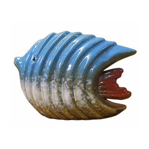 tropical fish - fish figure - ceramic fish