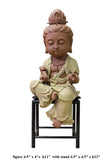 Chinese Handmade Ceramic Cute Kwan Yin Figure cs2596S