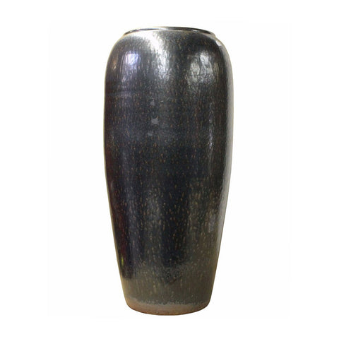 clay tall vase - simple vase - home decor