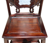 armchair - Horseshoes-back - Rosewood armchair