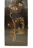 antique gold color painter panel