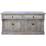 wood white low cabinet