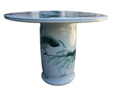 porcelain table - round table - chinese garden table
