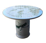 ceramic outdoor round table