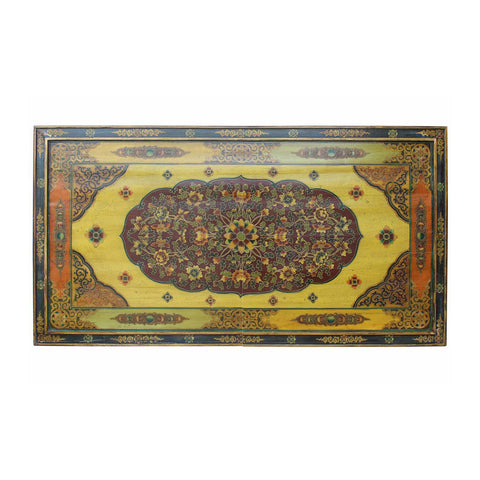 wall panel - Tibetan panel - vintage plaque