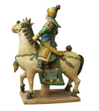 ceramic Chinese soldier on horse