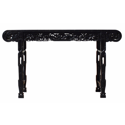 Chinese black rosewood altar table