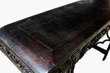 Chinese antique black table