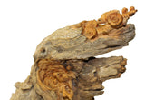 wood carving - cypress art - Chinese wood art