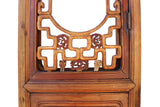 pair tall antique Chinese door panel