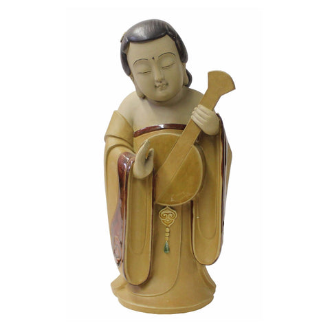 ceramic Chinese lady figure