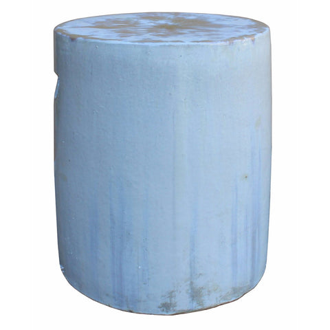 clay white porcelain stool