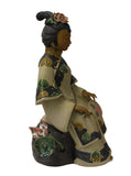 ceramic lady figure