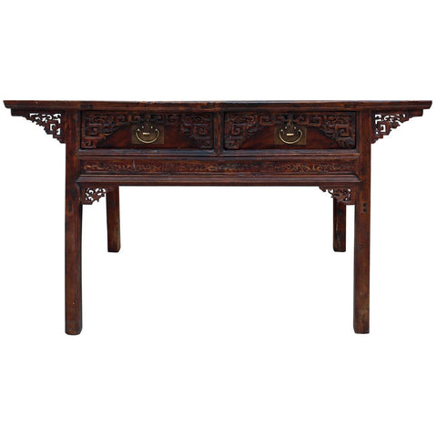 antique Chinese living room table