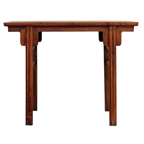 small rosewood table