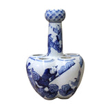 bottle shape porcelain blue white vase