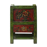 Tibetan tray - magazine rack - Wood tray