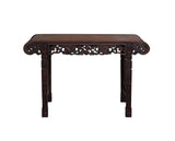 Chinese rosewood altar table - slim table - foyer table