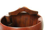 bucket - wood tray - raw wood box