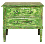 console table - sideboard - lime green