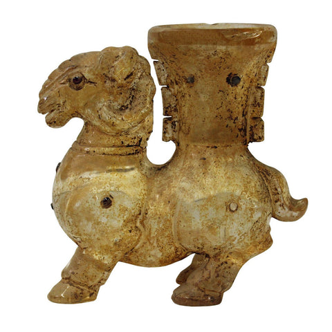 ancient glass lamb
