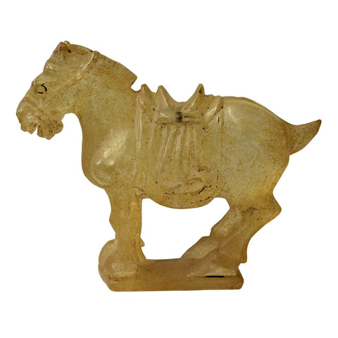 liuli glass horse