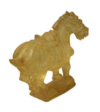 liuli glass tong horse