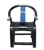 Chinese horse shoe chair