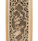 wood carved panel