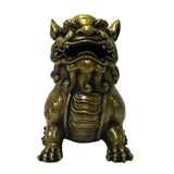bronze Foo Dog staue