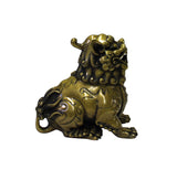 Chinese Oriental Fine Bronze Metal Pixiu Display Figure cs3820S