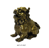bronze Foo Dog statue