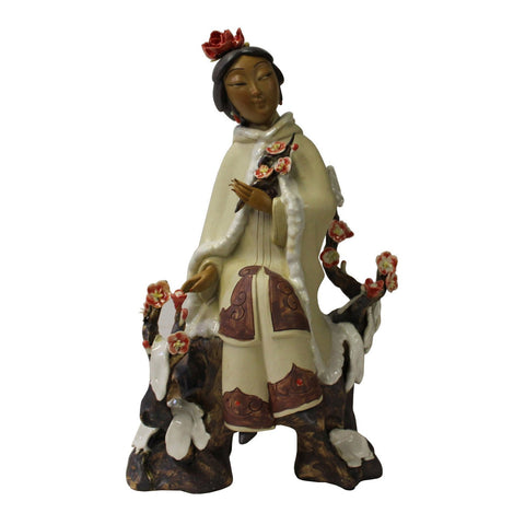 Chinese ceramic lady figure