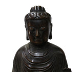 Handmade Bronze Vintage Finish Decent Look Sitting Buddha Statue cs3954WS