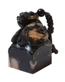 Stone Carved Mythology Pixiu Seal Stamp