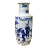 Oriental blue and white vase
