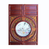 Chinese antique wall hanging panel