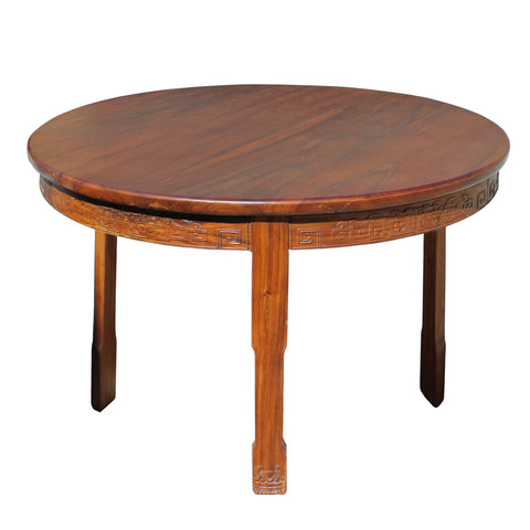rosewood round table