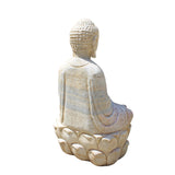 indoor outdoor stone Buddha statue
