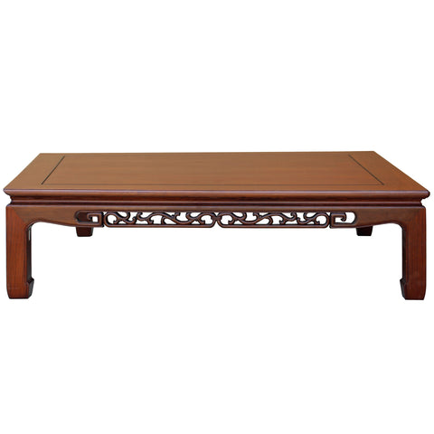 large size rectangular coffee table