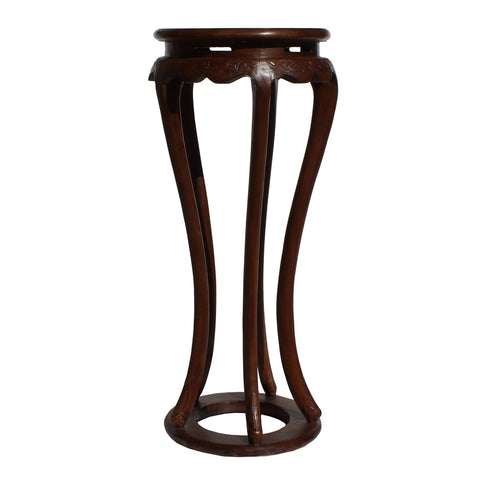 round shape tall flower stand