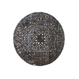 Oriental Round Lotus Flower Geometric Pattern Wall Panel cs4429S