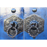 Chinese antique wood door gate