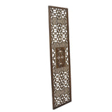 Chinese Distressed Geometric Pattern Accent Narrow Floor Panel cs4522S