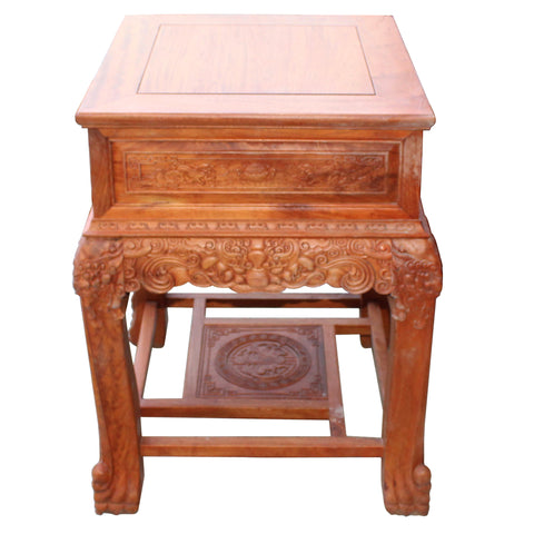 rosewood end table - night stand