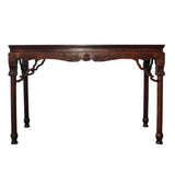 altar table - living room slim table - foyer table